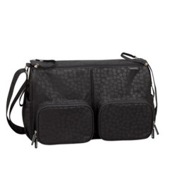 Bolso Maternal Pb Twin Cosmic Black de Bebé Due