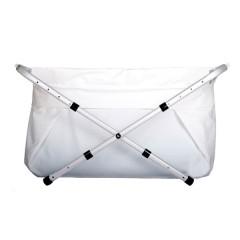 Bañera Bibabaño Extensible de 60 a 80 Cm Blanca