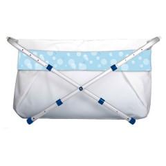 Bañera Bibabaño Extensible de 60 a 80 Cm Burbuja Azul