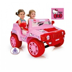 Coche Two Evasion Hello Kitty 12V de Injusa