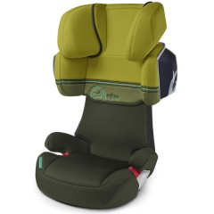 Silla de Auto Grupo Ii Iii Solution X2 Graffiti Green de Cybex