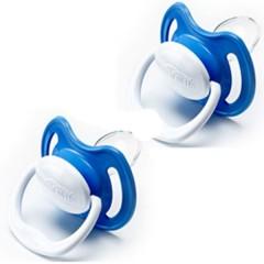 Chupete Ortodóntico Perform T1 Azul (2 Uds) de Dr. Brown´s