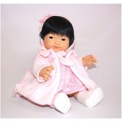 Muñeca Chinita Vestida de Rosa de D´nenes