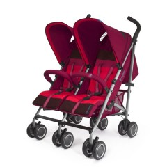 Silla Gemelar Twinyx Plus Passion Red de Cybex