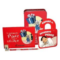 Kit Mágico Ratoncito Pérez Rojo de Divermagic