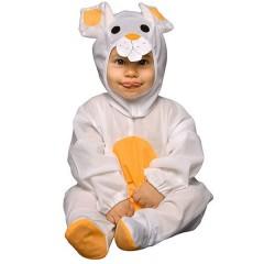 Disfraz de Conejo Blanco (talla 6-12 Meses)