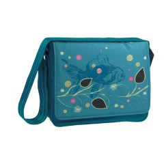 Bolso Maternal Casual Messenger Bag Color Denim Petrol de Olmitos