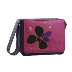 Bolso maternal Casual Messenger Bag color denim purple de Olmitos