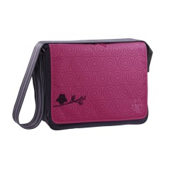 Bolso Maternal Casual Messenger Bag Color Flock Purple de Olmitos