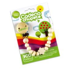 Cadena de Madera para El Chupete de Ico Baby