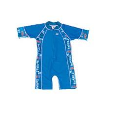 Bañador Traje de Una Sola Pieza Azul Grafiti de Babybanz