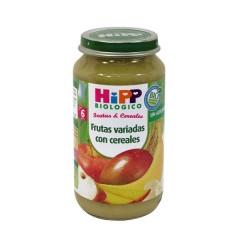 2 Tarritos Frutas Y Cereales Frutas Con Cereales de Hipp Biológico