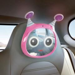 Espejo para el coche Baby Mirror Oly Rosa de Benbat