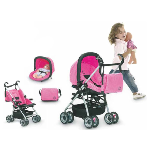 Silla de paseo de juguete mini solo matrix pro pink de - Silla paseo munecas ...