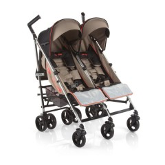 Silla de paseo gemelar Club Twin Blush de Be Cool