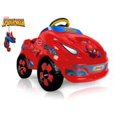 Coche Spiderman 6V de Injusa