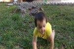 Vídeo- La reacción de un papá al ver a su bebé ponerse de pie por primera vez